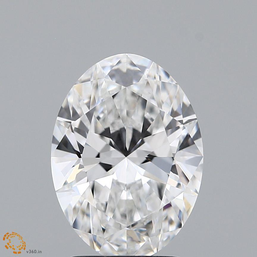 2.01 Carat E-VVS2 Ideal Oval Diamond
