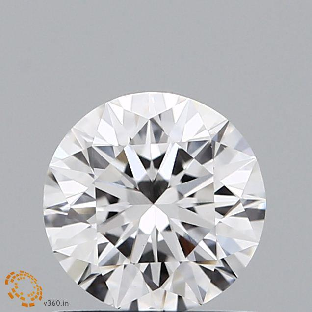 1.00 Carat E-VS1 Excellent Round Diamond
